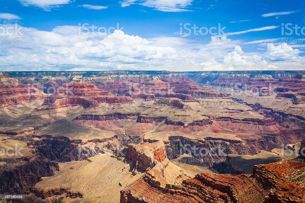 Grand Canyon National Park Landscape, South Rim, USA Landmark stock photo