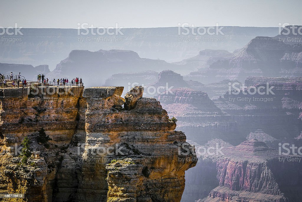 Grand Canyon National Park (USA) Mather Point stock photo