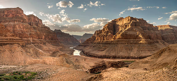 grand canyon national park - canyon stock-fotos und bilder