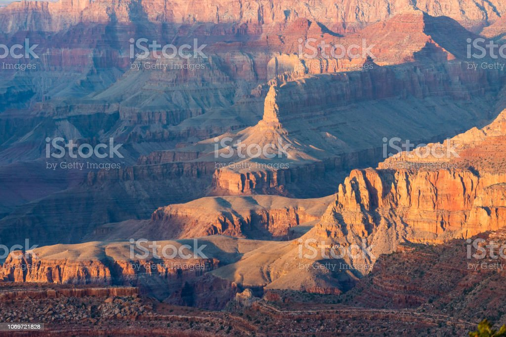 Grand Canyon National Park seen from South Rim. Grand Canyon National...