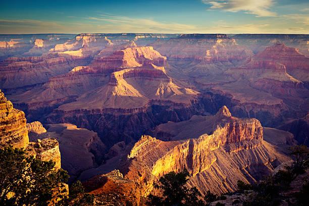 Grand Canyon National Park South Rim Scenic American Southwest Landscape stock photo