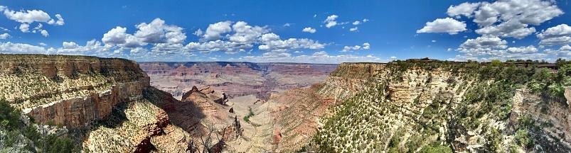hiking grand canyon national park - williams, az - usa