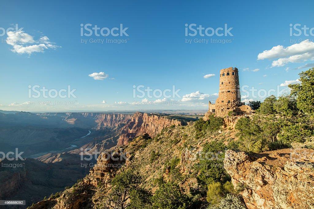 Grand Canyon National Park Sunset South Rim stock photo