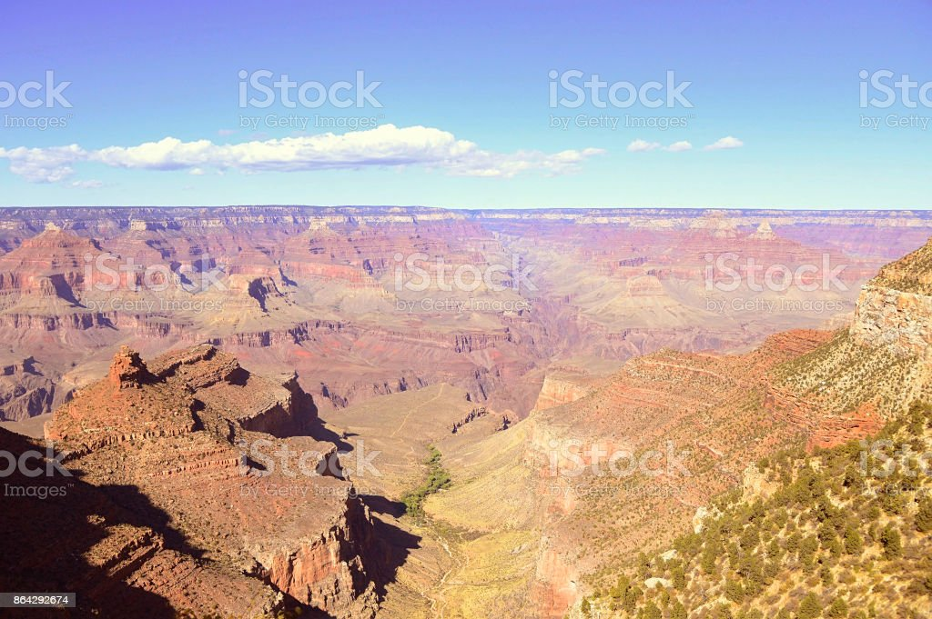 Grand canyon national park view royalty-free stock photo