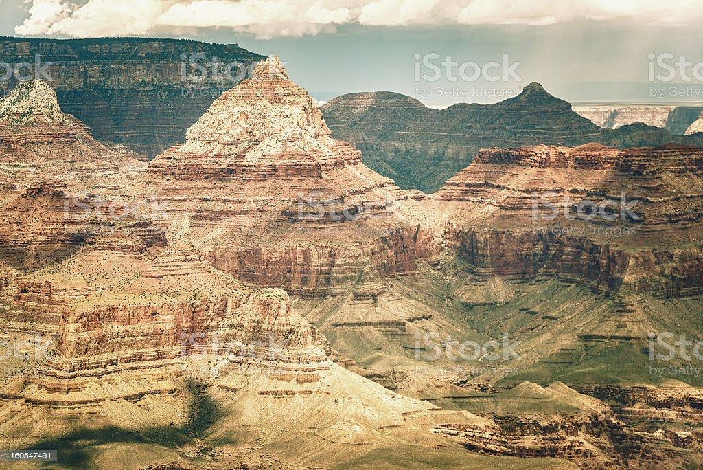 Grand Canyon National Park with colorado river - Arizona royalty-free stock photo