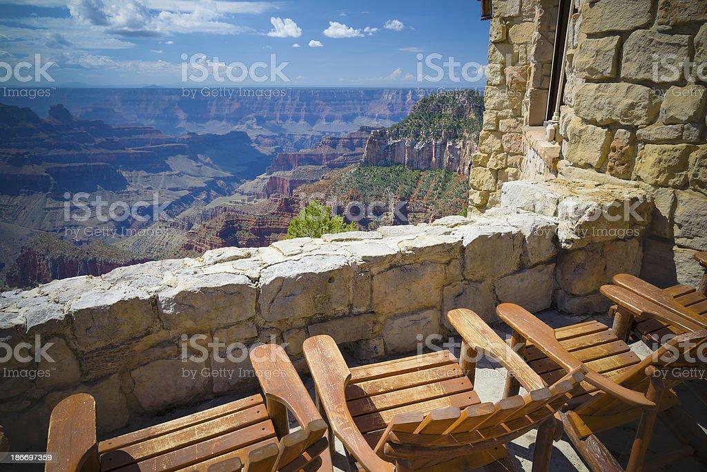 Grand Canyon, North Rim royalty-free stock photo