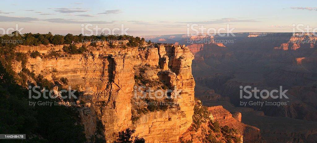 Grand Canyon Pan at Sunrise - Royalty-free Arizona Stock Photo