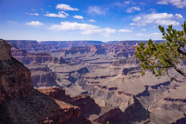 Grand canyon panorama landscape stock photo