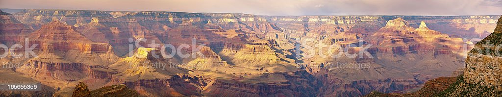 Grand Canyon  panorama (40 mega pixel) The photo combines over 10 images stitched together in a panorama. The resulting image is around  40 megapixel Adventure Stock Photo