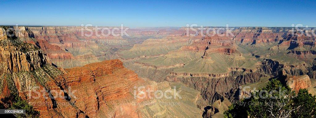 Панорама Гранд Каньон  Стоковые фото Стоковая фотография