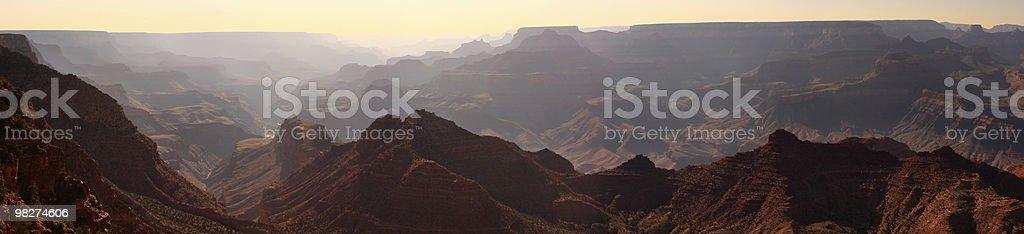 Grand Canyon Panorama royalty-free stock photo