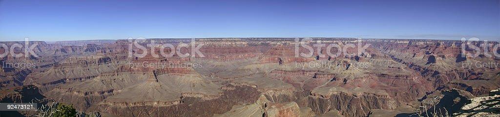 Grand Canyon Panoramic royalty-free stock photo