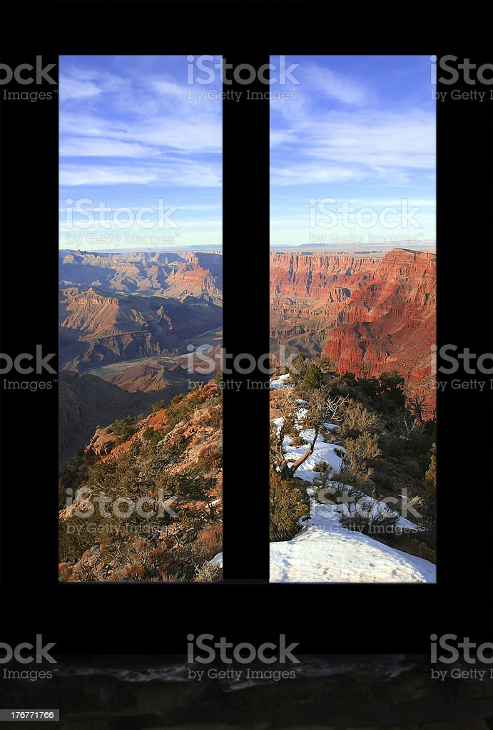Grand Canyon royalty-free stock photo