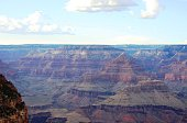 The mountains of the Grand Canyon