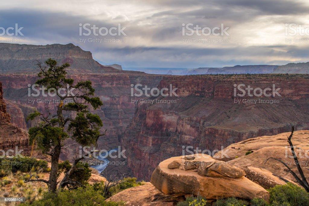 Grand Canyon. stock photo