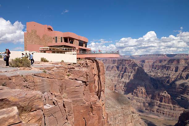 Grand Canyon  Skywalk (West Rim) stock photo