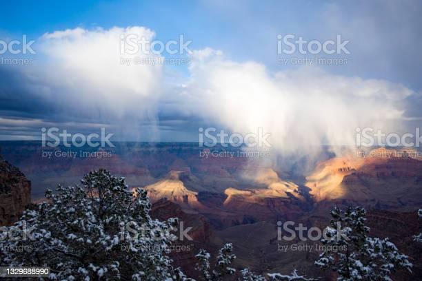 Photo of Grand Canyon Snowfall