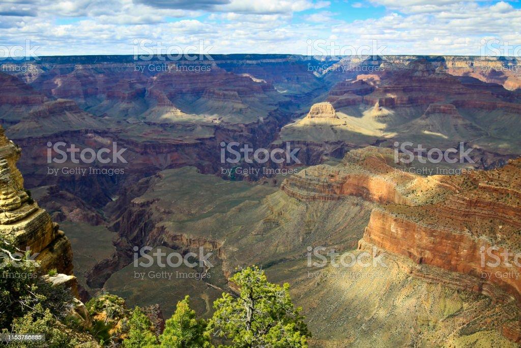 Grand Canyon South Rim Arizona Usa Stock Photo Download