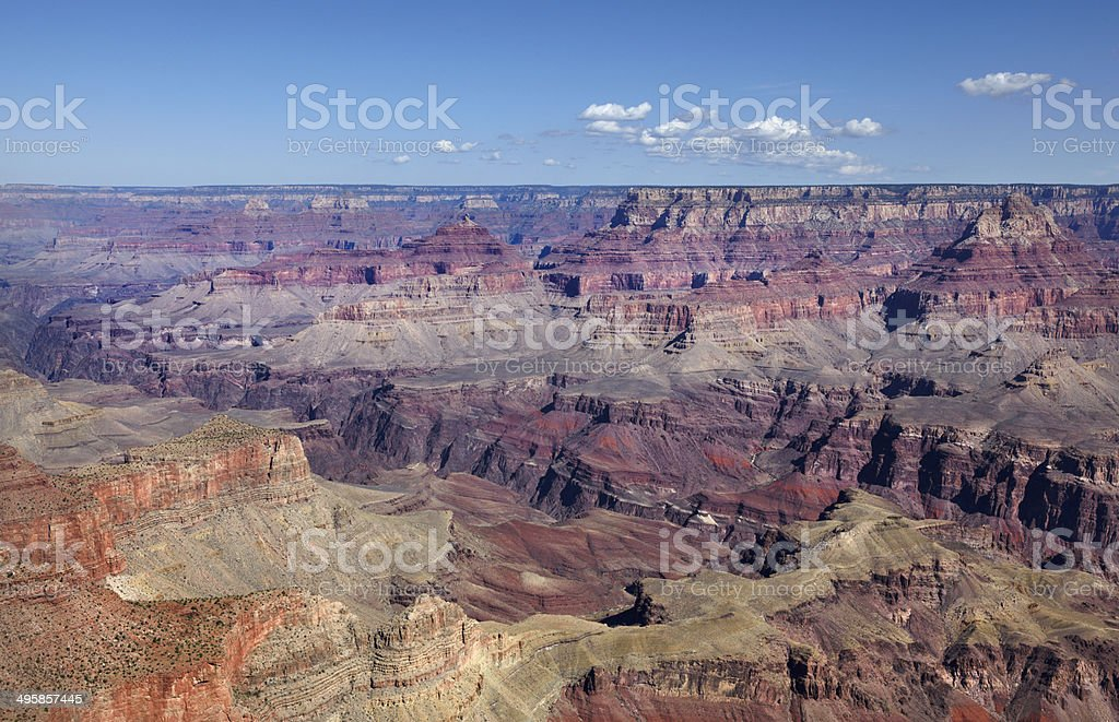 Grand Canyon South Rim : Grandview Point royalty-free stock photo