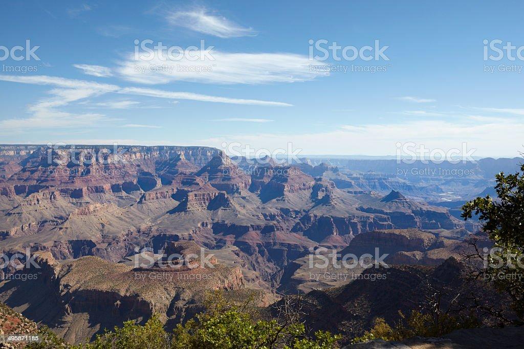Grand Canyon South Rim : Grandview Point royalty-free stock photo