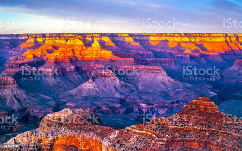 Grand Canyon, South rim royalty-free stock photo