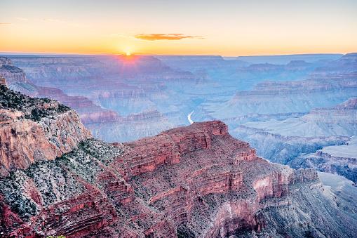 Grand Canyon Sunset at Hopi Point