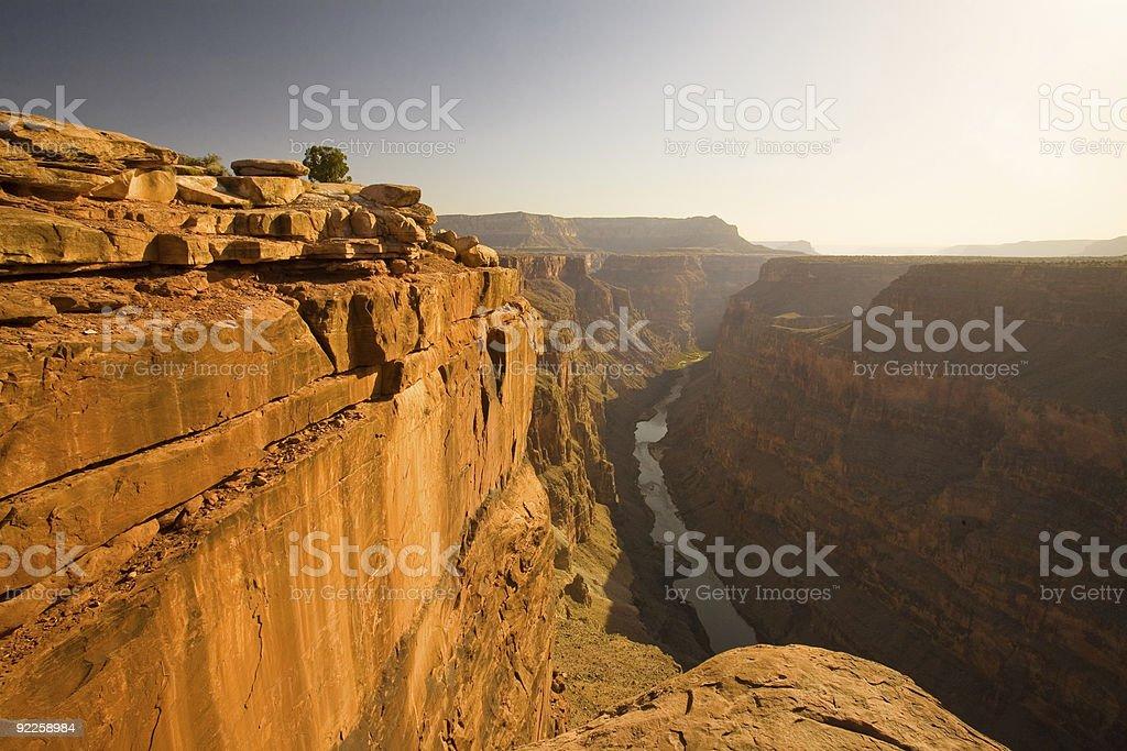 Grand Canyon - Toroweap Point royalty-free stock photo