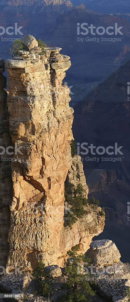 Grand Canyon Vertical Panoramic royalty-free stock photo