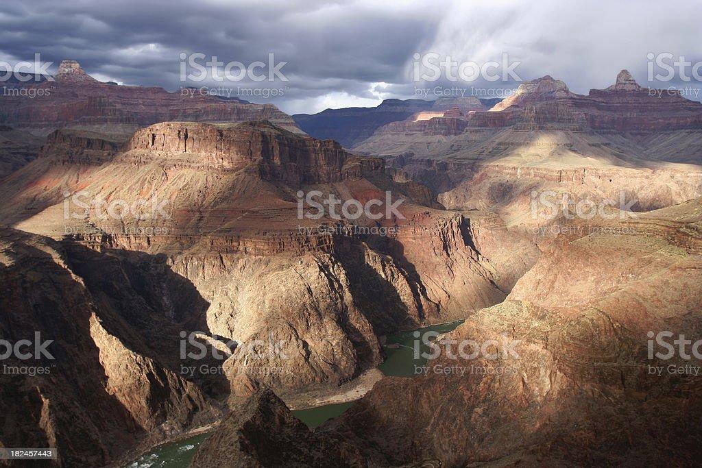 Vista del Gran Cañón foto de stock libre de derechos