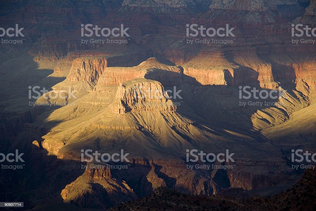 Grand Canyon View royalty-free stock photo