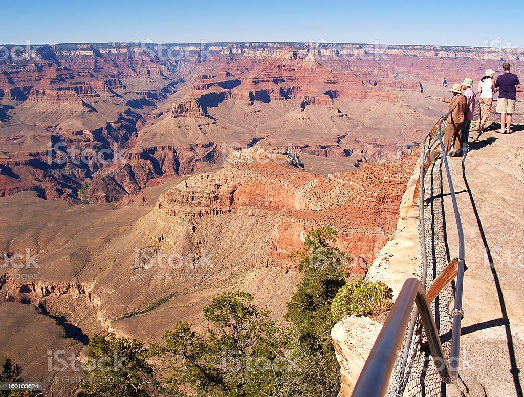 Grand Canyon vista stock photo