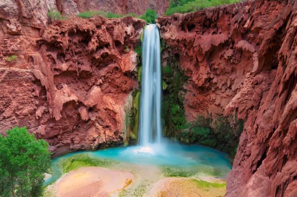 Grand Canyon waterfalls stock photo