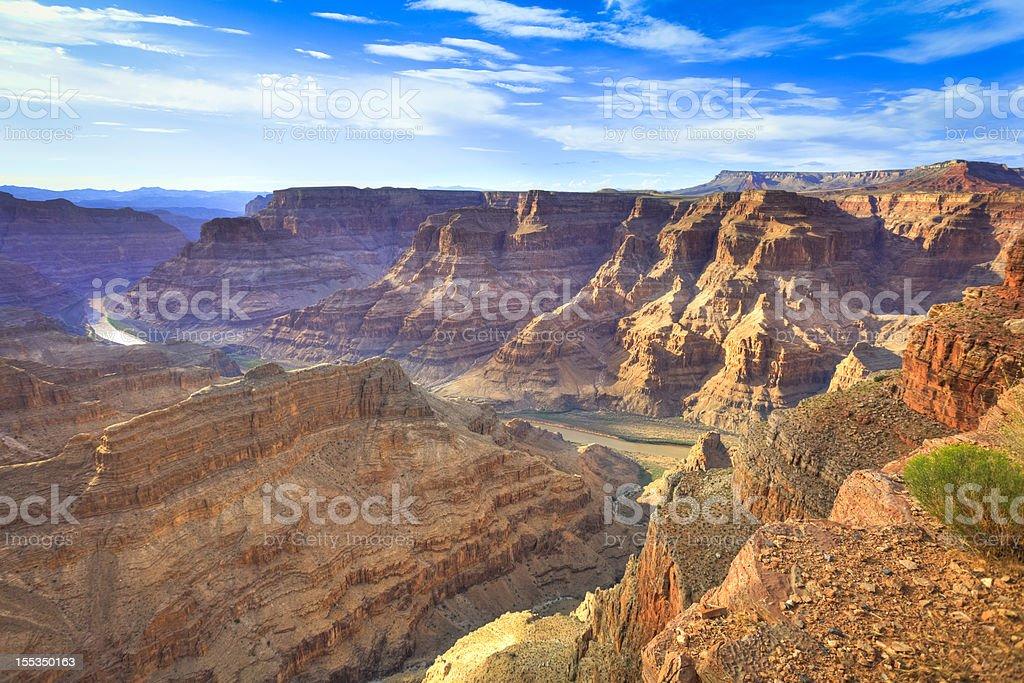 Grand Canyon West, Arizona stock photo