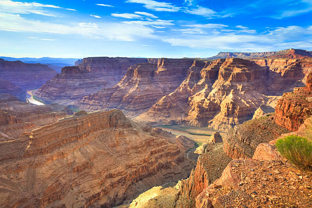 grand canyon west, arizona - grand canyon national park stock photos and pictures