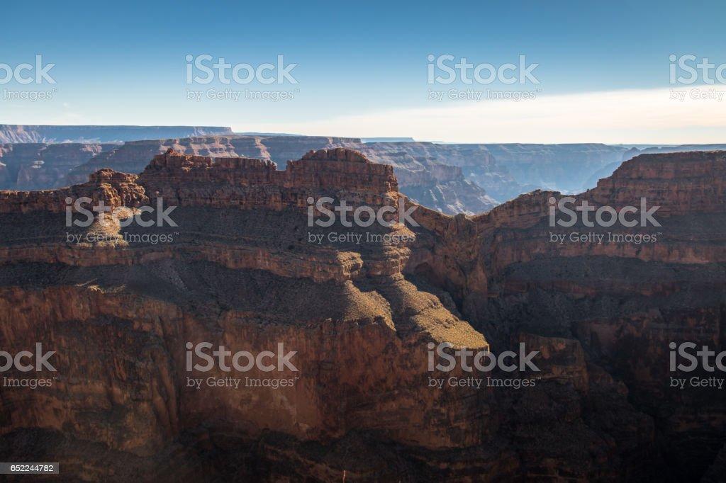 Grand Canyon West Rim - Arizona, USA stock photo