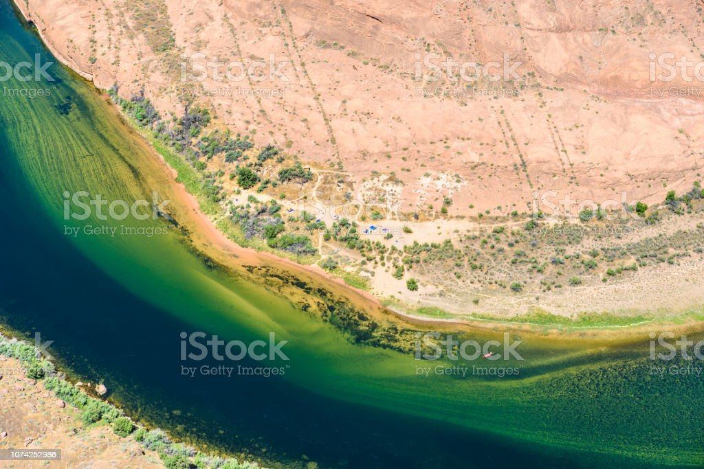 Grand Canyon With Colorado River Located In Page Arizona