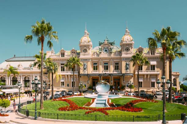 Grand casino in Monte Carlo in Monaco stock photo