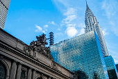 Grand Central and Chrysler building in daytime