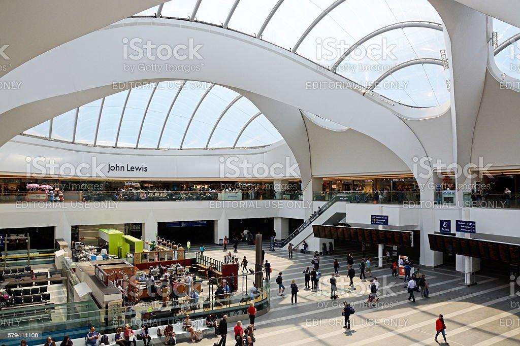 Grand Central mall, Birmingham. stock photo