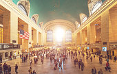Grand Central Station in Manhattan - New York