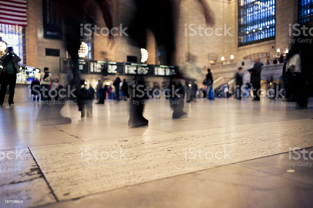 Grand Central Station New York stock photo