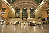 Grand Central Terminal's imposing size was intended to attract passengers to New York Central Railroad against their competition, Pennsylvania Railroad and smaller lines. Currently the terminal serves passengers traveling on the Metro-North Railroad.