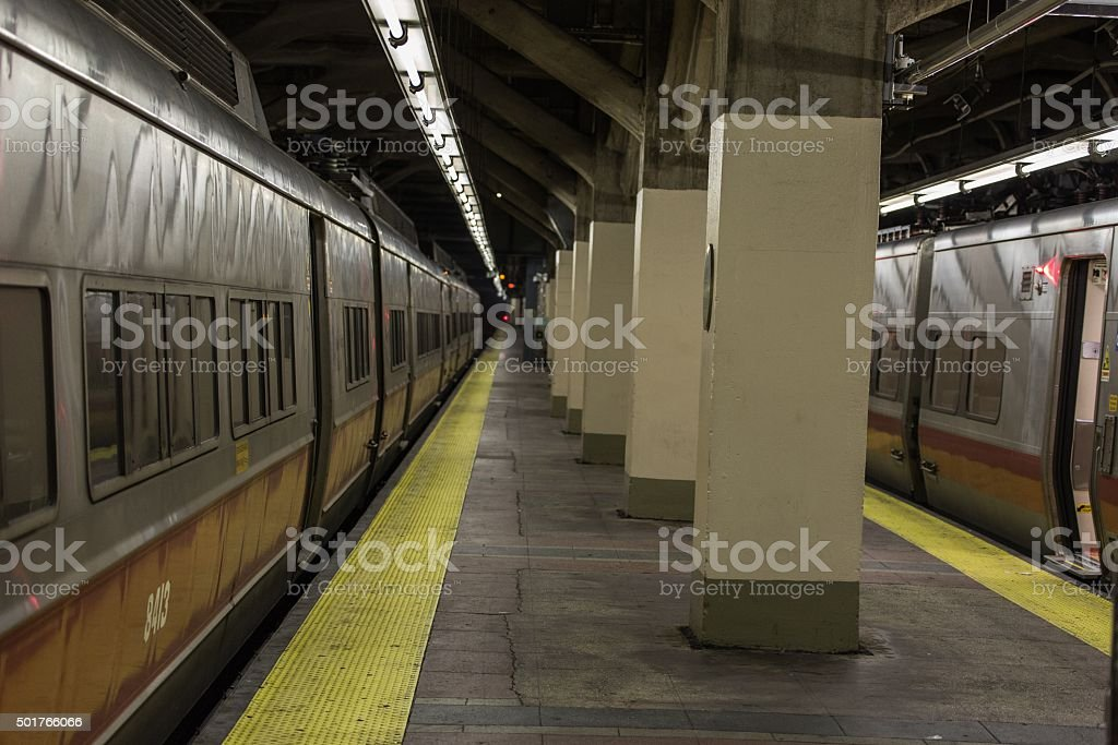 Grand Central Station Subway Platform stock photo