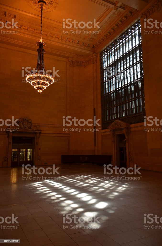 Grand Central Station Window stock photo