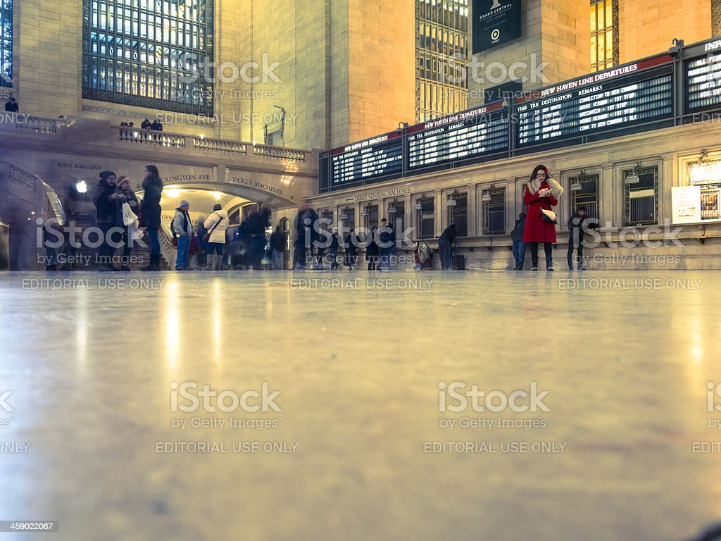 Grand Central Terminal Main Concourse Manhattan royalty-free stock photo