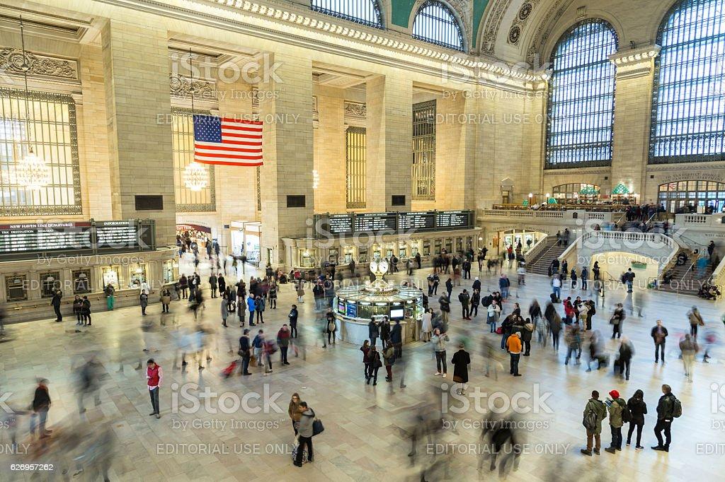 Grand Central Terminal Main Hall stock photo