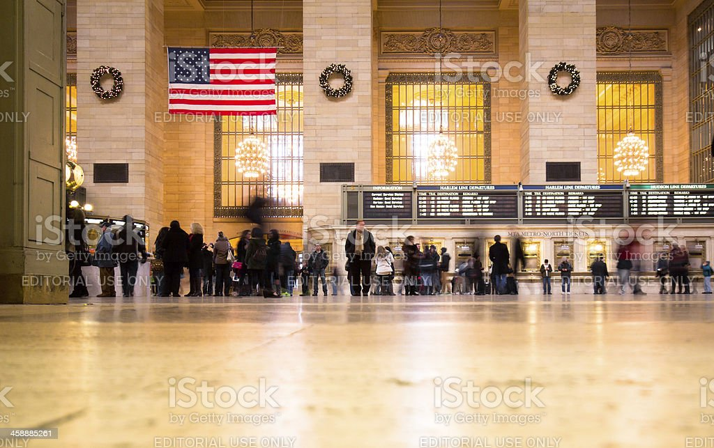 Grand Central Terminal NYC royalty-free stock photo