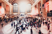 Main hall of Grand Central Terminal in New York City.