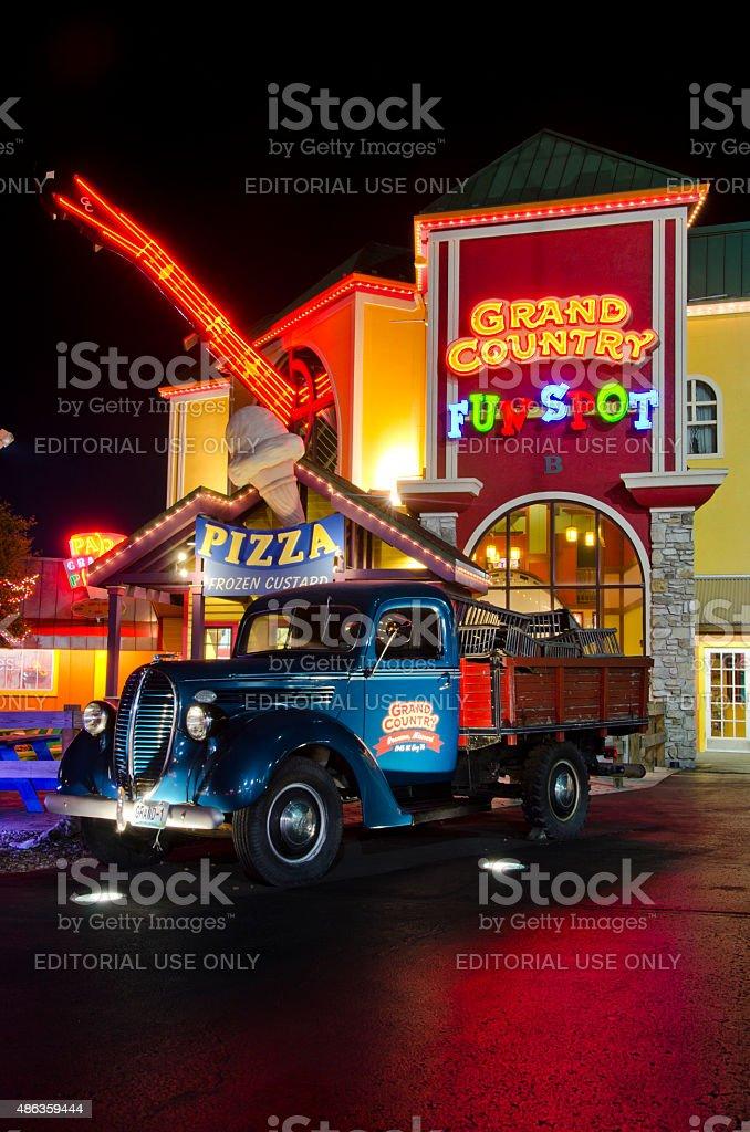 Grand Country Fun Spot in Branson, Missouri stock photo