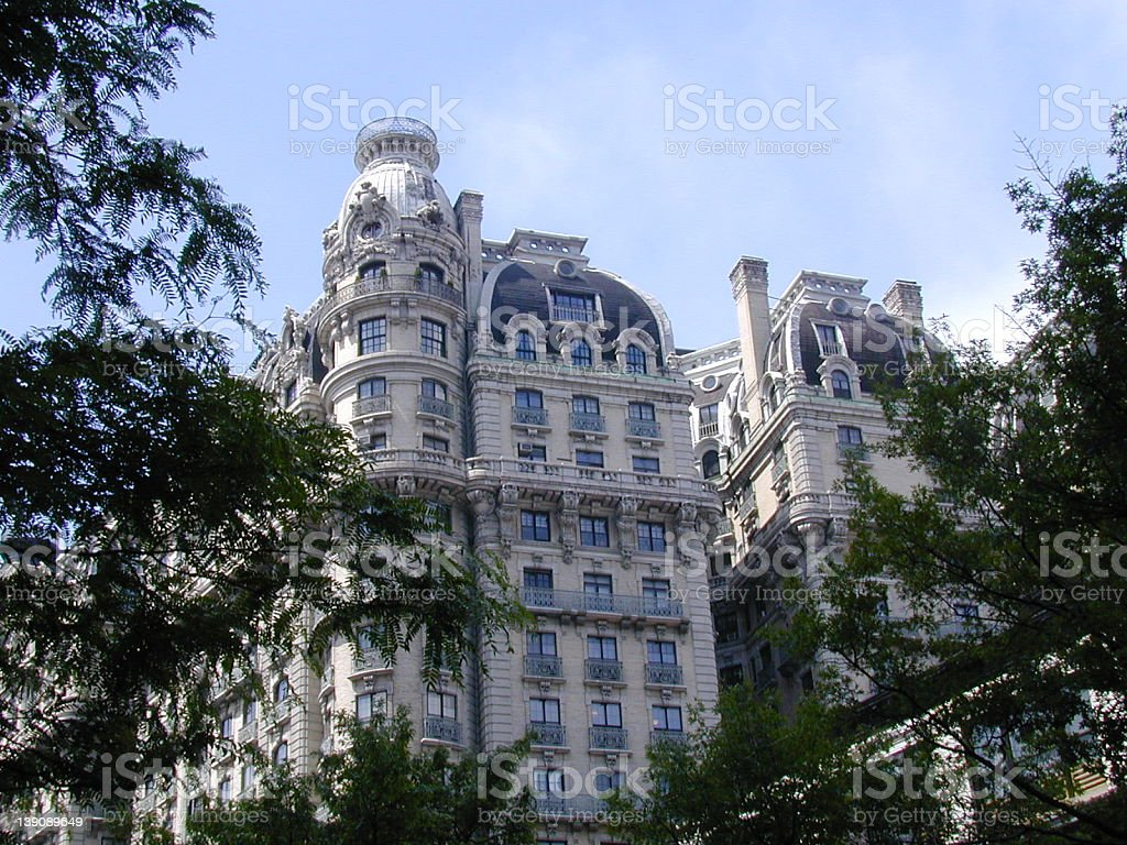 Grand Dame - Ansonia Hotel stock photo